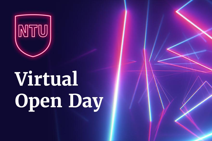 26 June Virtual Open Day