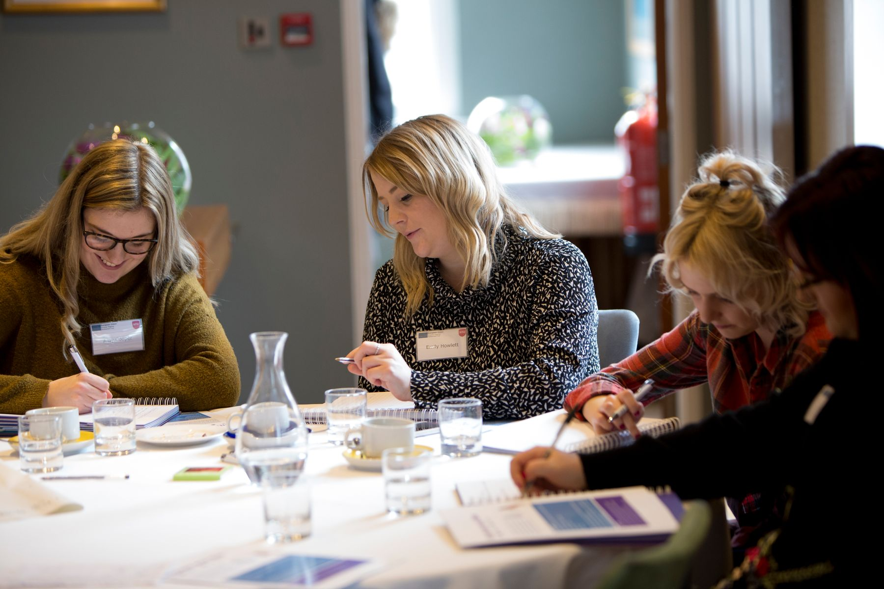 Businesses taking part in a workshop