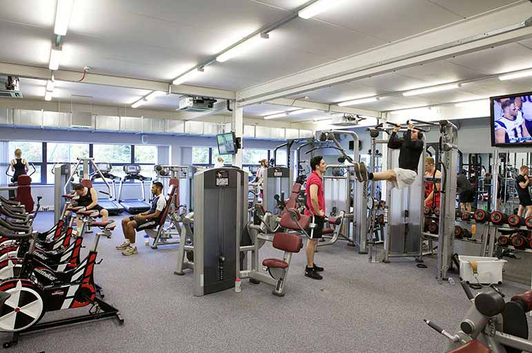Lee Westwood Sports Centre Gym