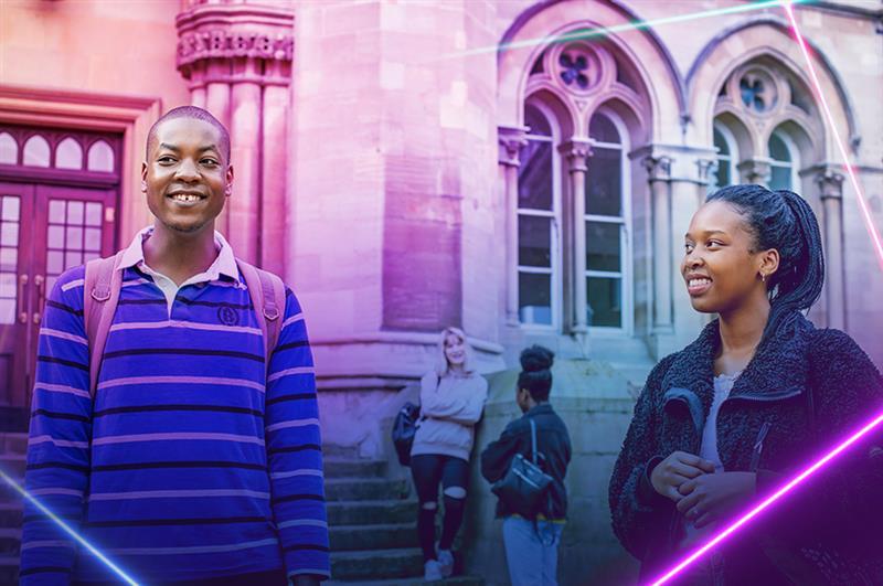 Undergraduate virtual open day campaign