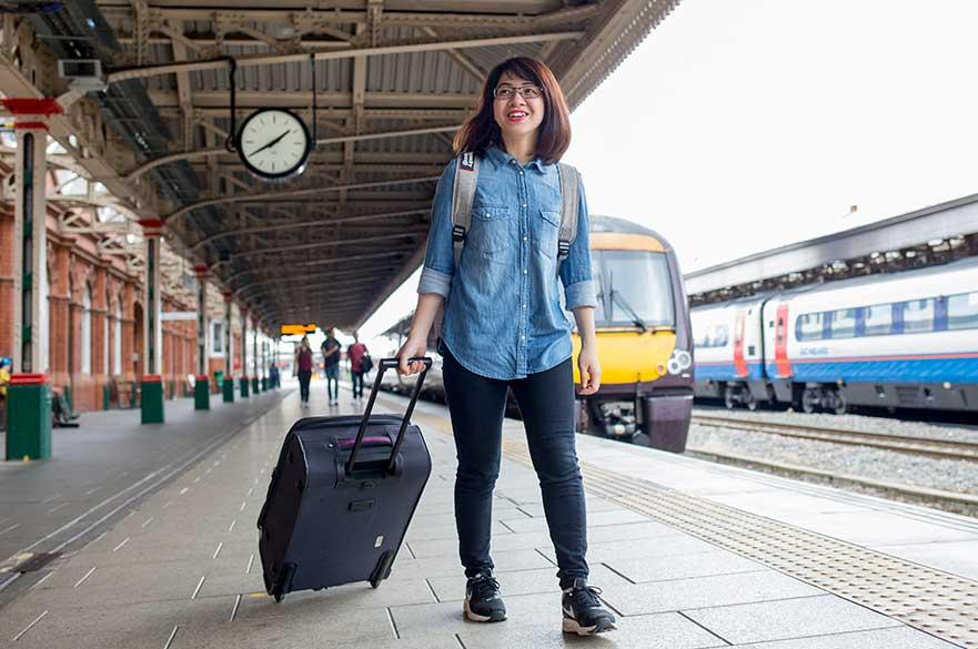 Arriving in Nottingham